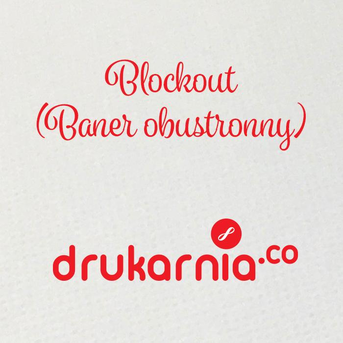 Blockout - baner obustronny